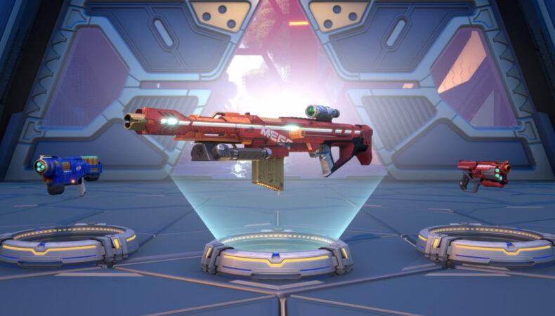 NERF Legends selection armes