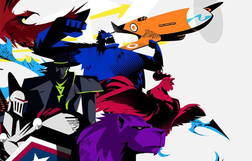 Overwatch League illustration