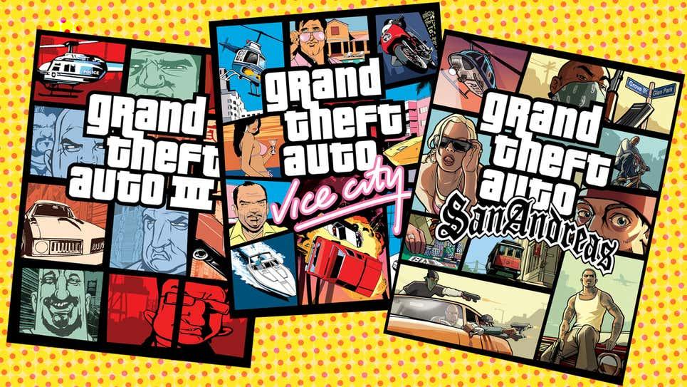Vers des remarsters de GTA 3, Vice City et San Andreas ?