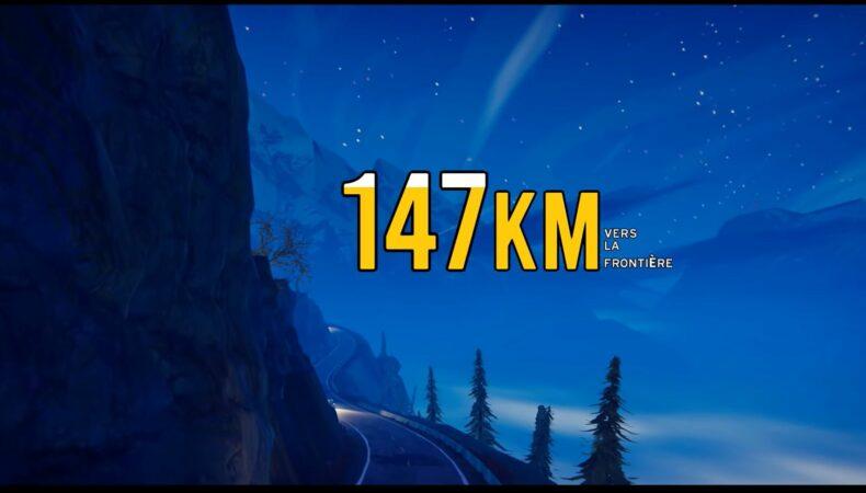 Road 96 kilometrage