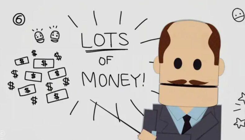 South Park money
