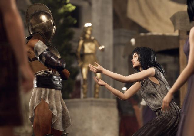 Modern Storyteller gladiateur
