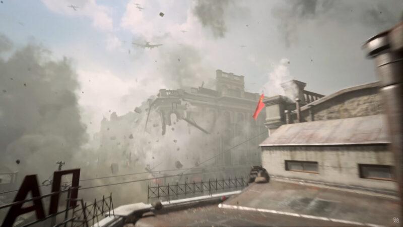 Call of Duty: Vanguard bombardement