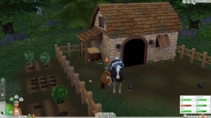 Les Sims 4 Vie à la campagne vache
