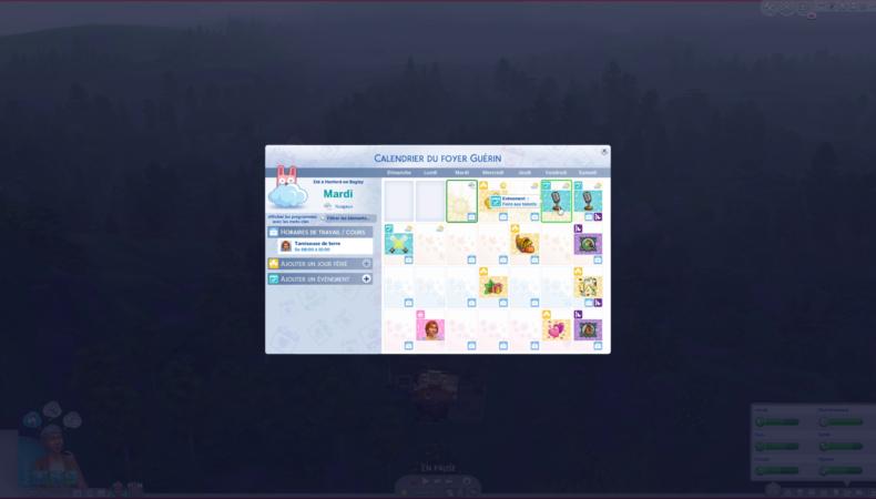 Les Sims 4 Vie à la campagne foire