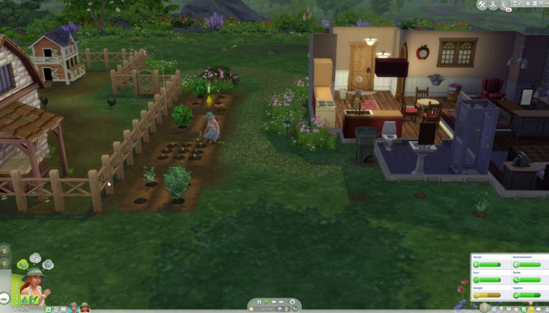 Les Sims 4 Vie à la campagne plantation