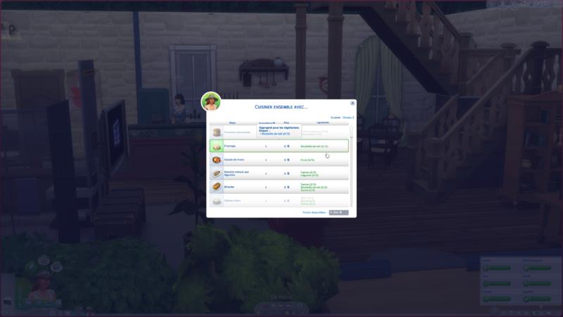 Les Sims 4 Vie à la campagne confitures