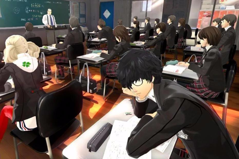 Persona 5 école jeu vidéo
