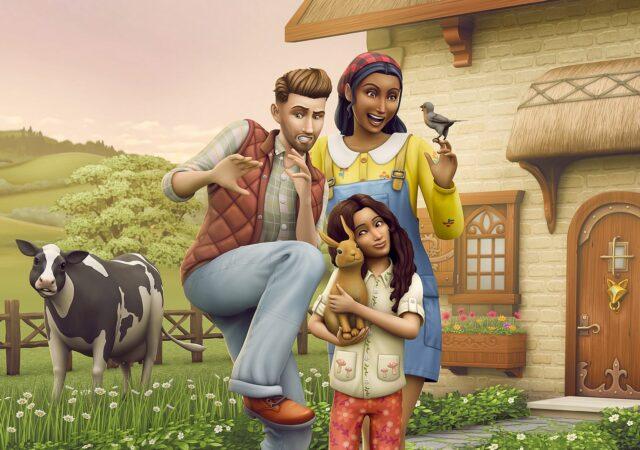 Les Sims 4 Vie à la campagne art