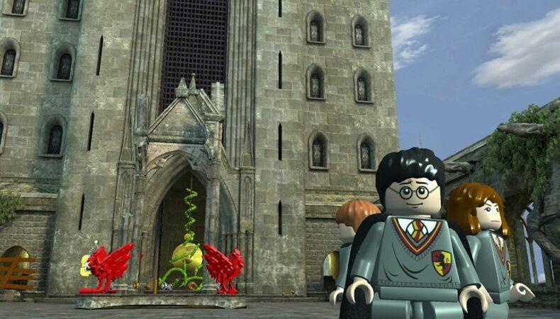 Harry Potter école de jeu vidéo