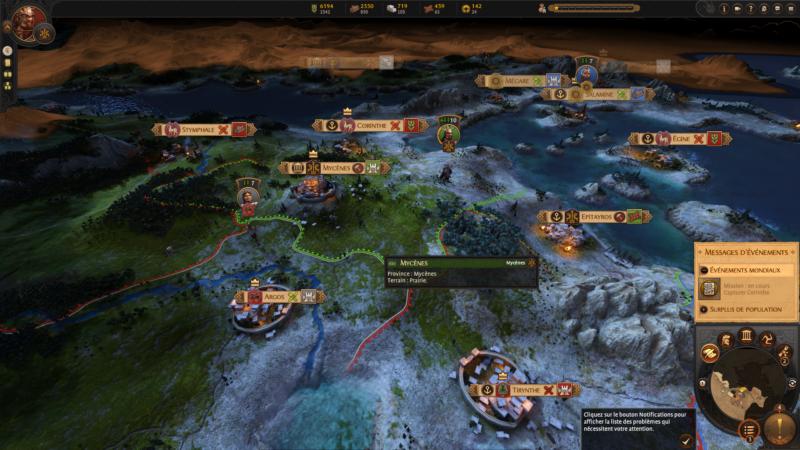 carte A Total War Saga: Troy
