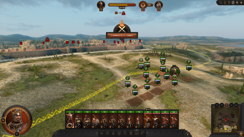 A Total War Saga: Troy siège