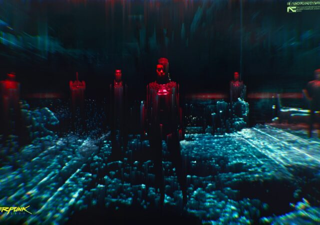 Cyberpunk 2077 cyberespace