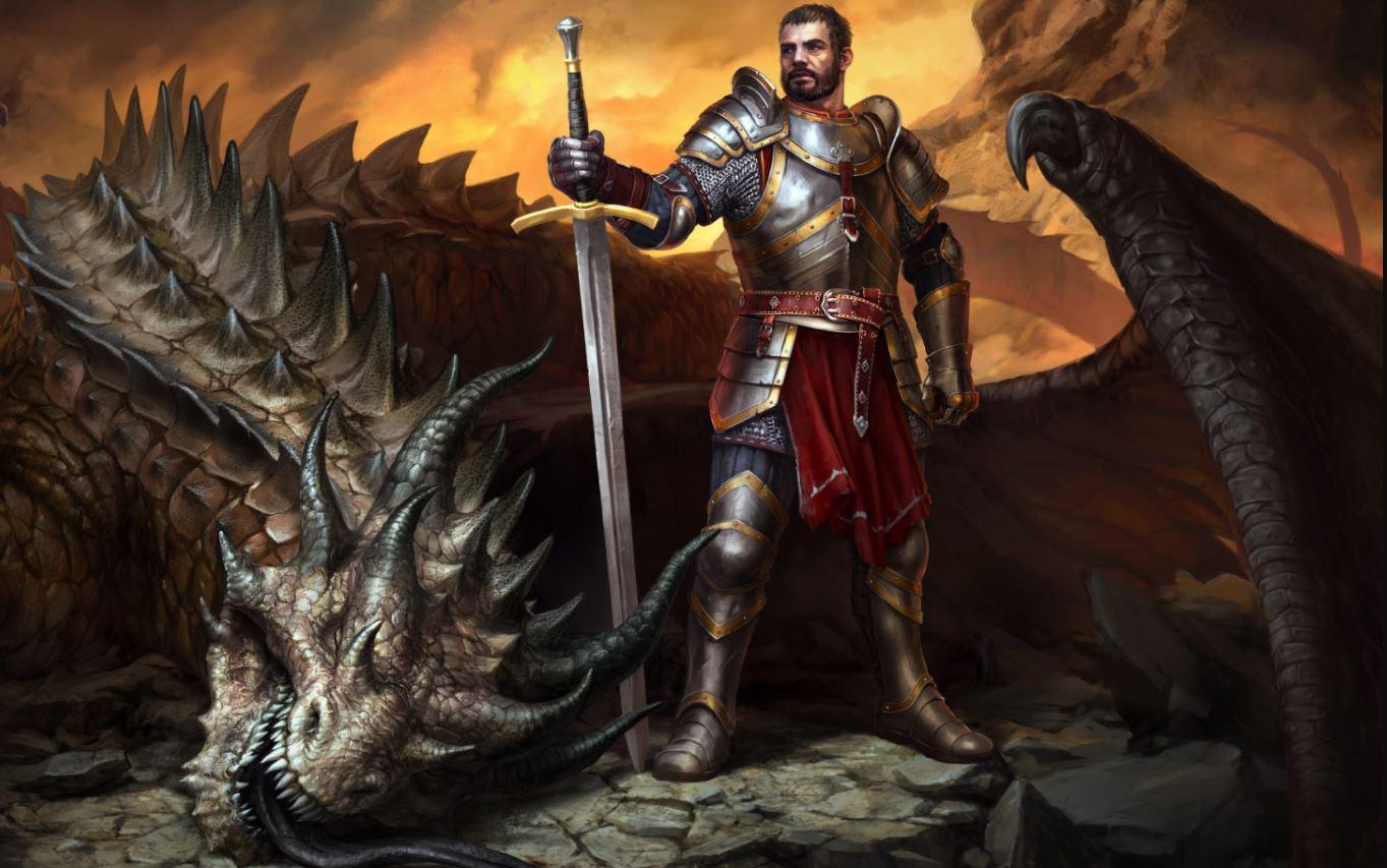King's Bounty 2 dragon