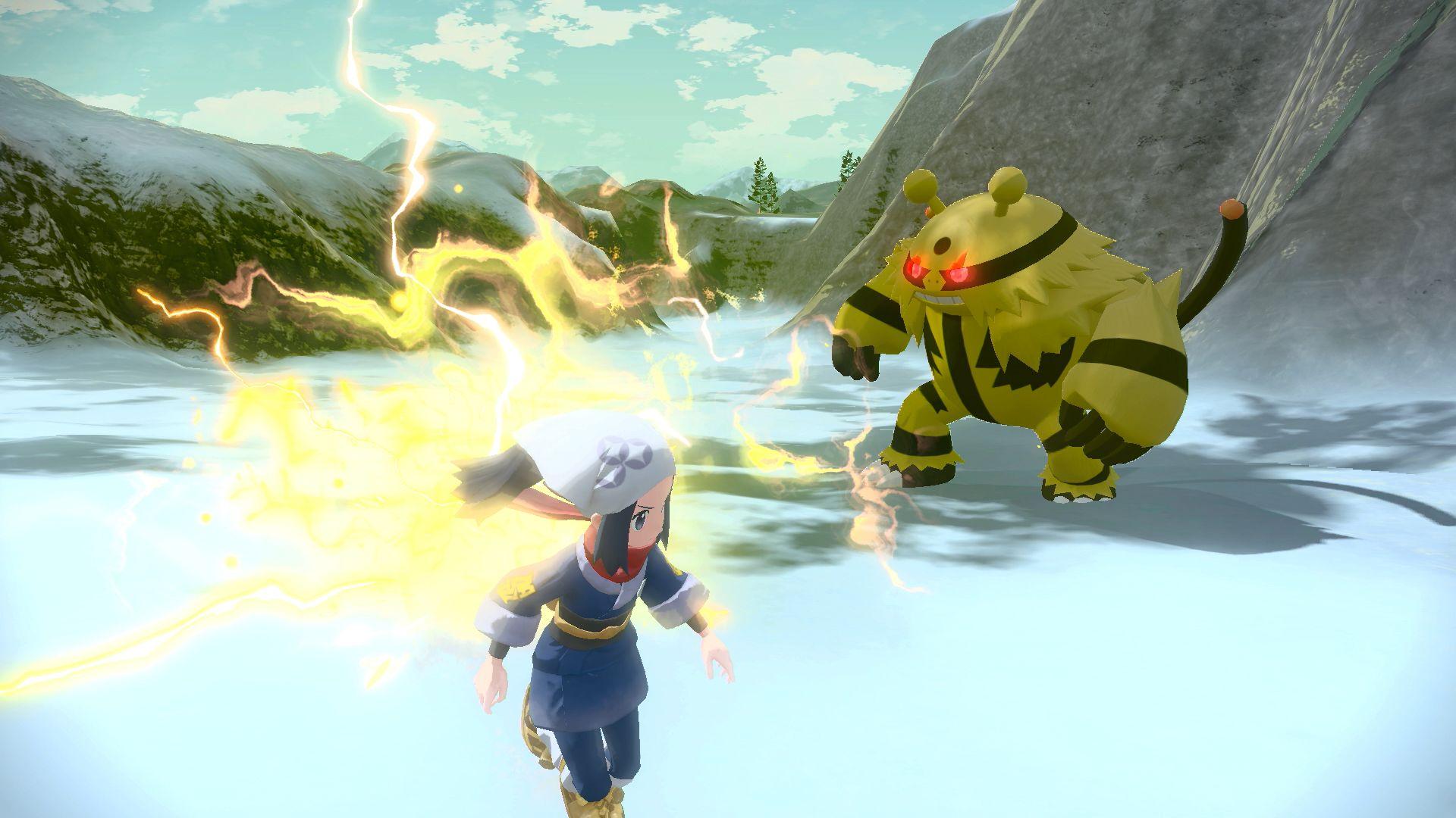 Légendes Pokémon : Arceus - Baron Elekable