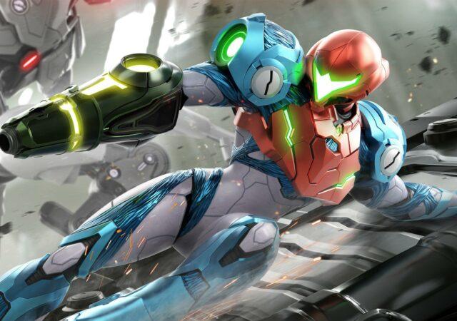 Metroid Dread - Samus slide