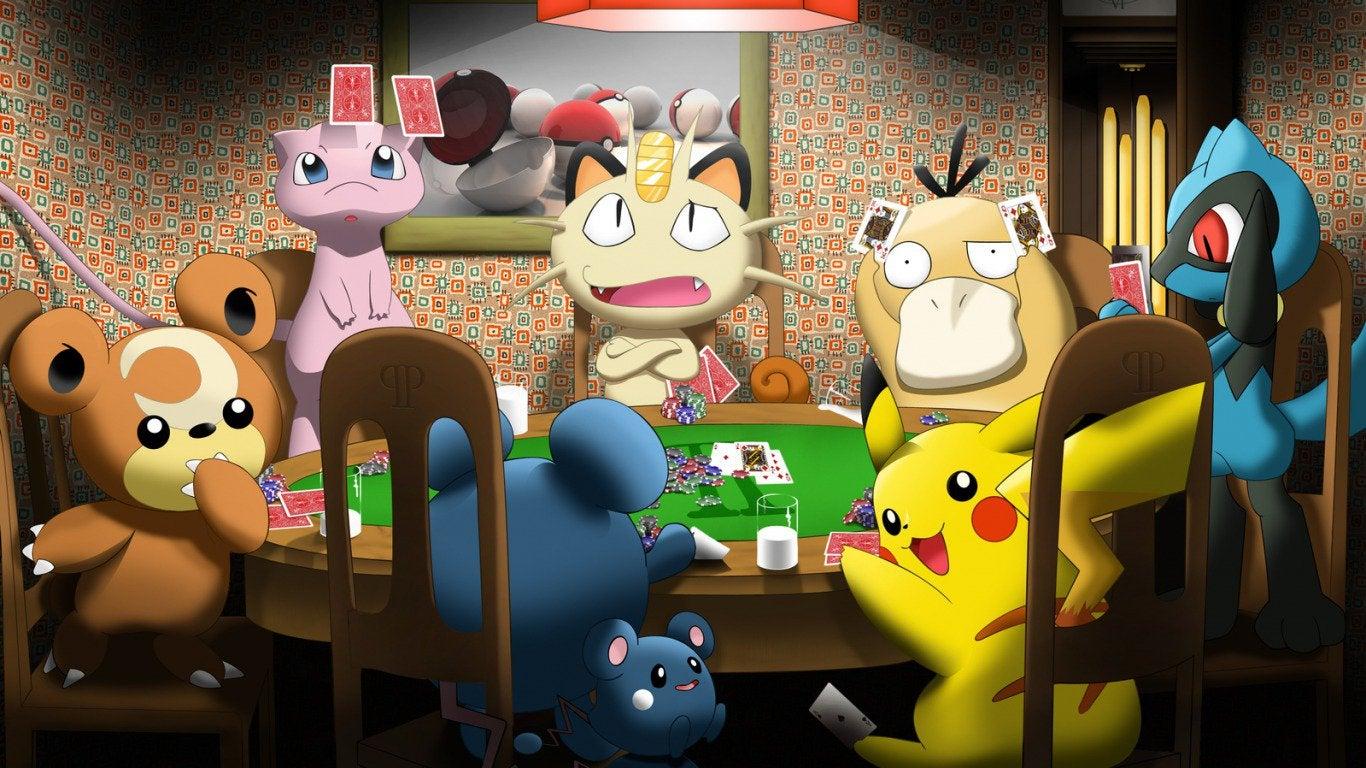 PEGI - Pokémon jeux d'argent