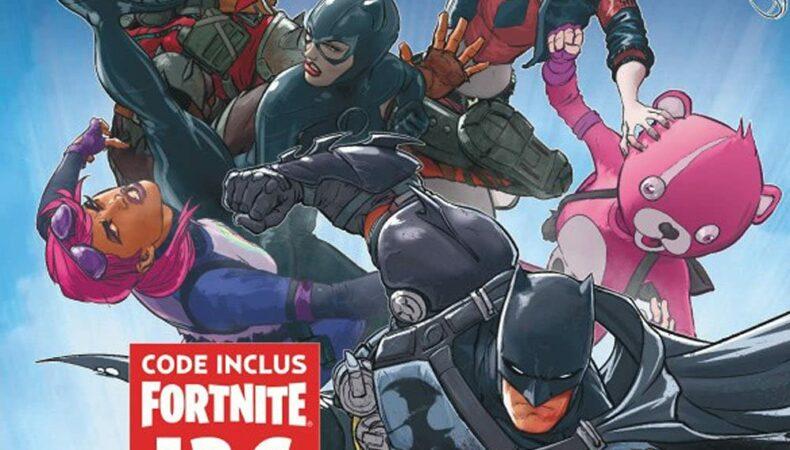 Batman Fortnite couverture