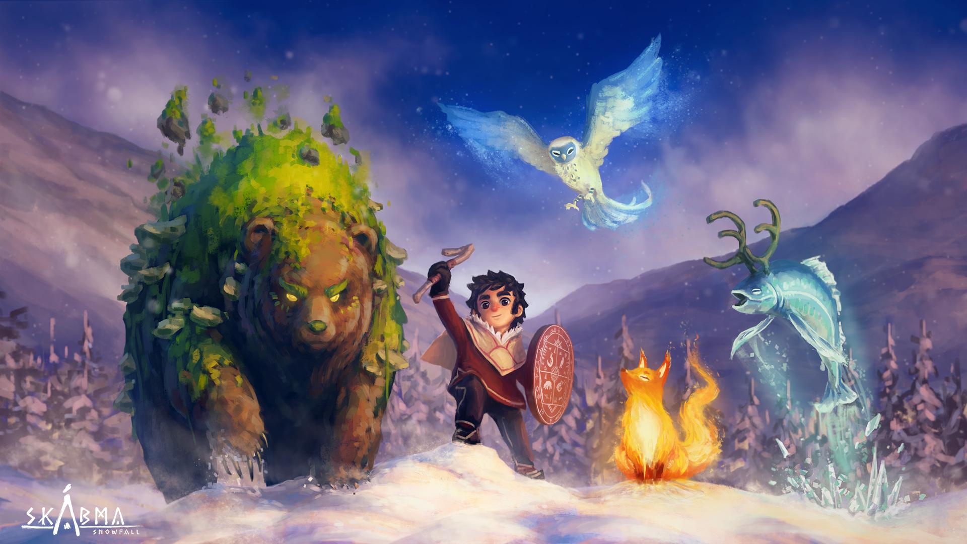 Skabma Snowfall heros