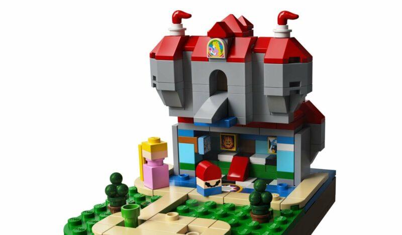 Super Mario 64 LEGO - Chateau Peach