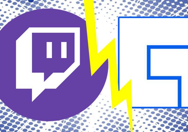 Twitch Facebook Gaming Logos