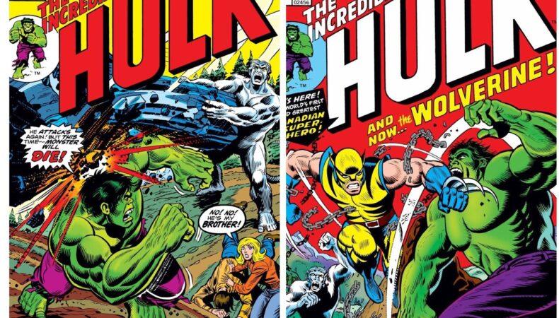 Wolverine Hulk 180 181
