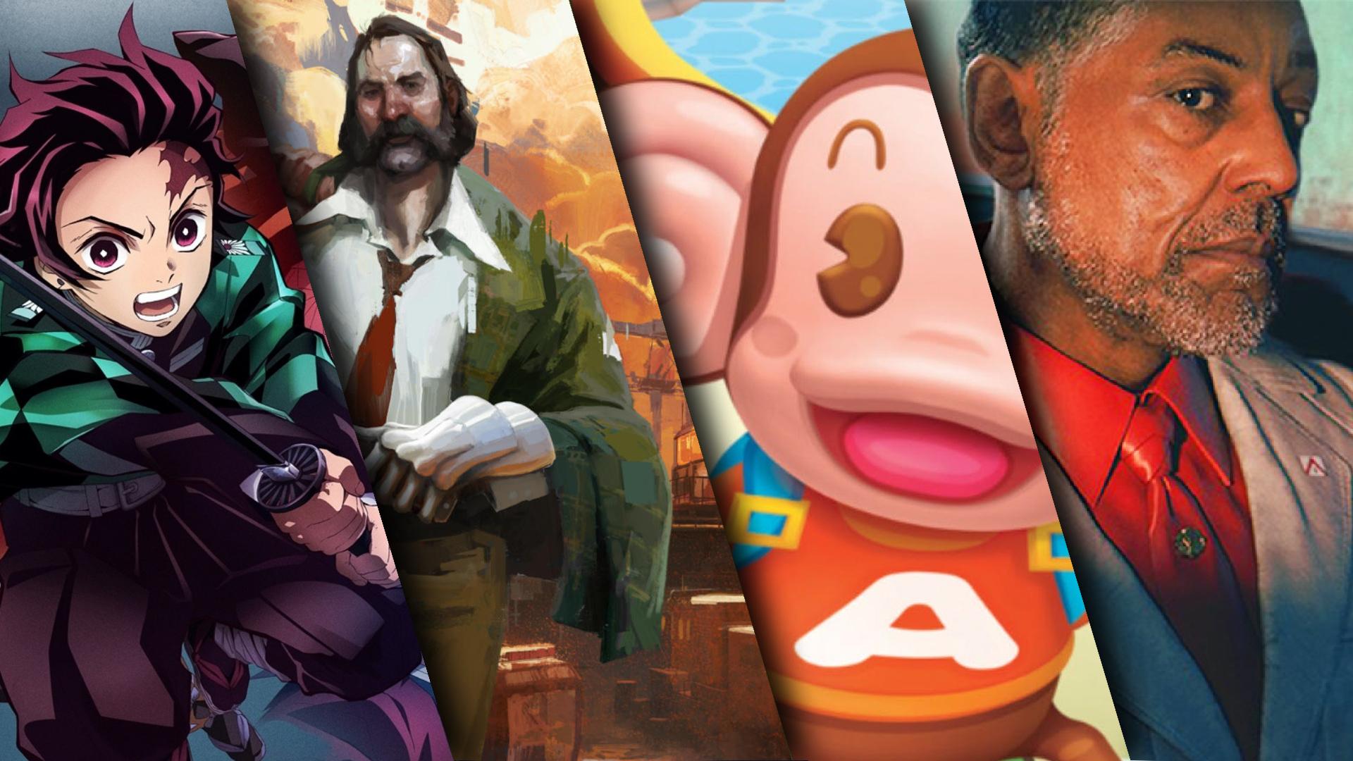 Sorties jeux vidéo octobre 2021