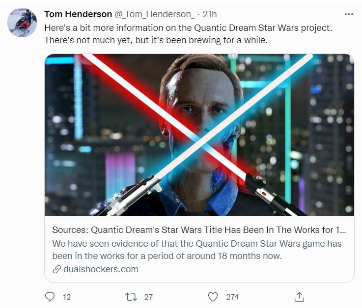 tweet henderson Star Wars