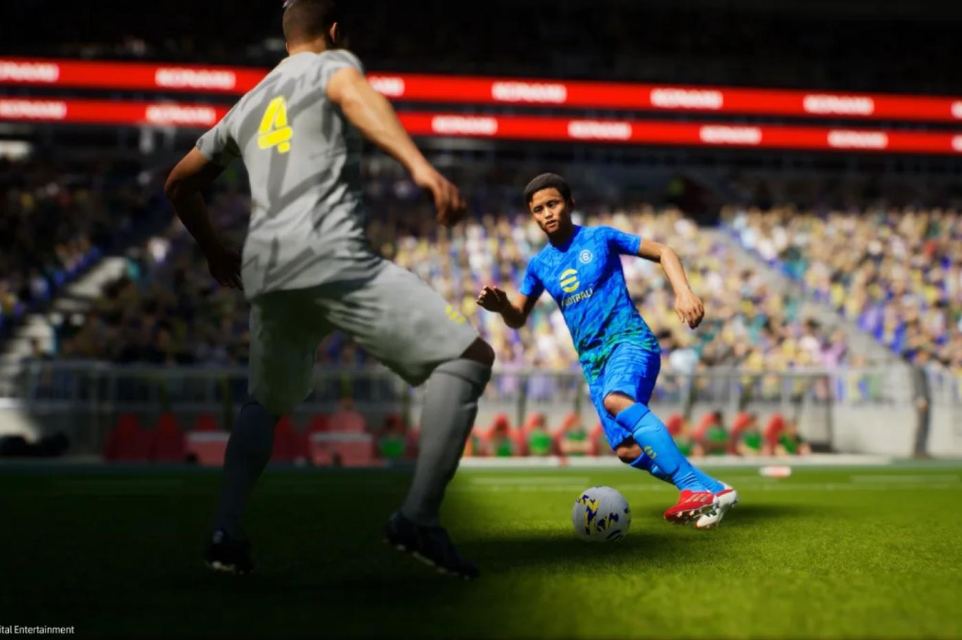 efootball PES 2021 dribble