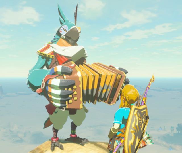 The Legend of Zelda: Breath of the Wild kass