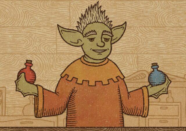 Potion craft Yoda