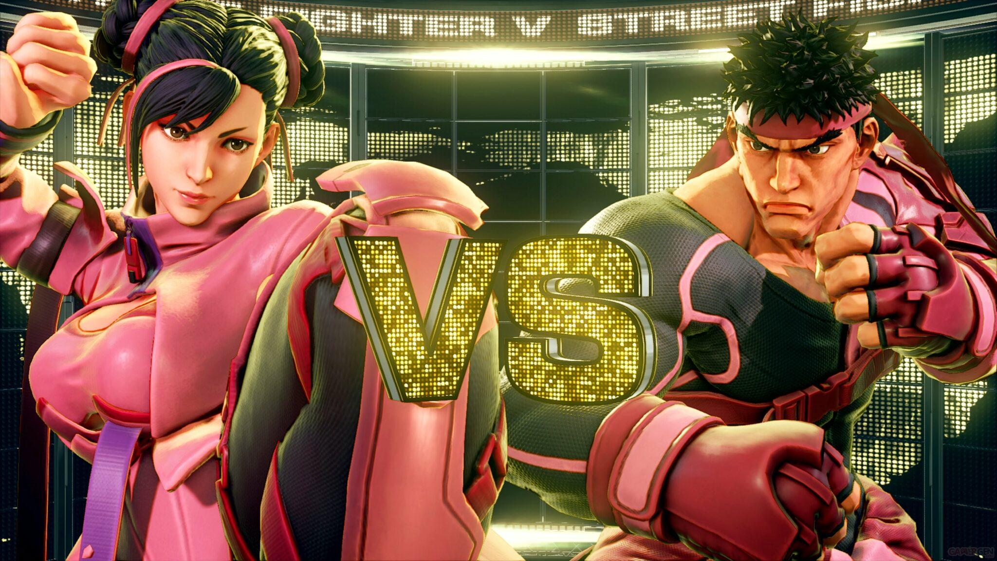 Street Fighter V combat cancer